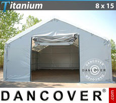 Om tälthallar som tälthall Dancover 8x9x3x5 Titanium.